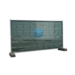 Groen winddoorlatend bouwheknet 180x345cm 150gr