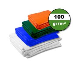 Afdekzeilen 100gr/m²