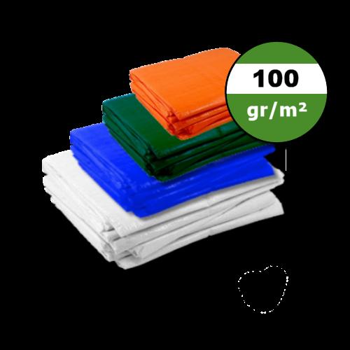 Dekzeil 100gr | Wit | Blauw | Groen | Oranje