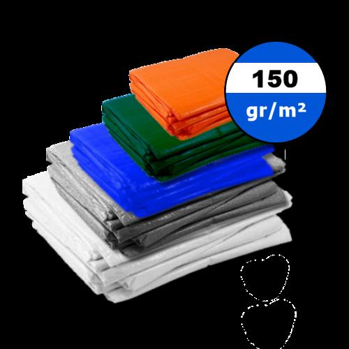 Dekzeil 150gr | Wit | Grijs | Blauw | Groen | Oranje