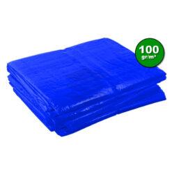 Blauw afdekzeil 100gr | Afdekproducten.nl