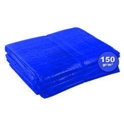 Blauw afdekzeil 150gr | Afdekproducten.nl