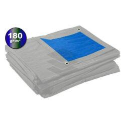 Blauw grijs afdekzeil 180gr | Afdekproducten.nl
