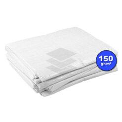 Wit afdekzeil 150gr | Afdekproducten.nl