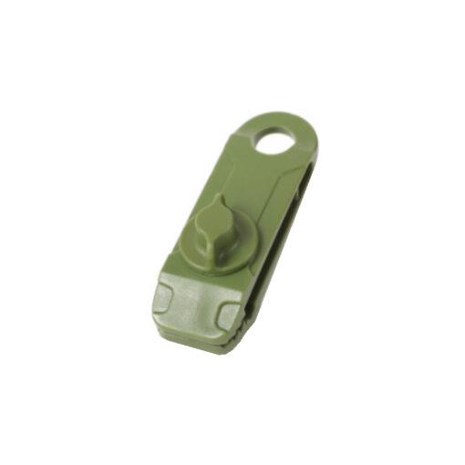 zeilclip zeilklem afdekzeil bevestigingsclip groen