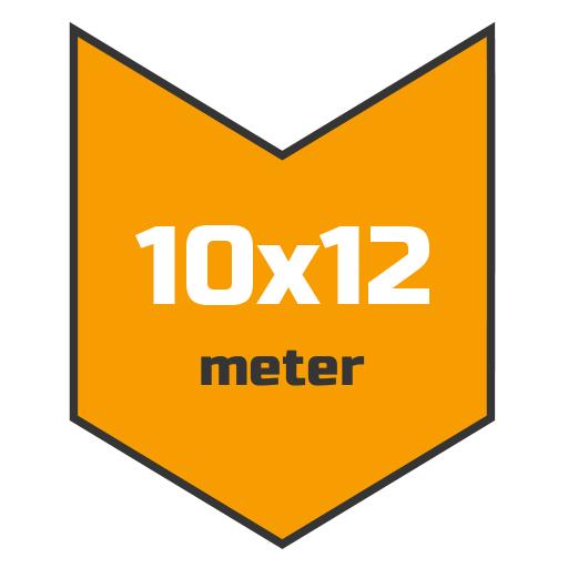 10x12m afdekzeil | Afdekproducten.nl