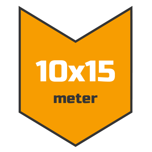 10x15m afdekzeil | Afdekproducten.nl