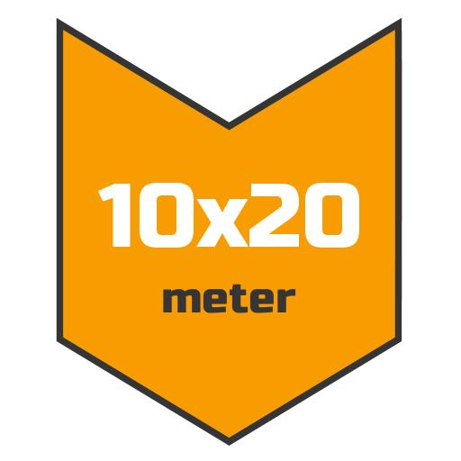 10x20m afdekzeil | Afdekproducten.nl