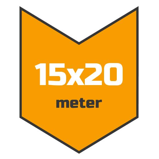 15x20m afdekzeil | Afdekproducten.nl