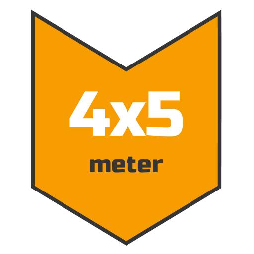 4x5m afdekzeil | Afdekproducten.nl
