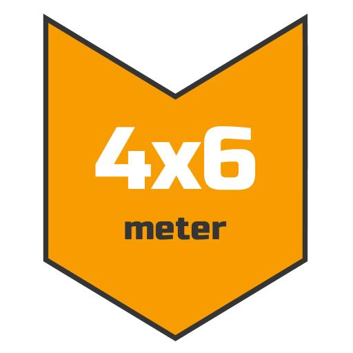 4x6m afdekzeil | Afdekproducten.nl
