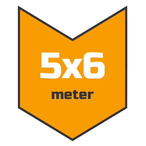 5x6m afdekzeil | Afdekproducten.nl