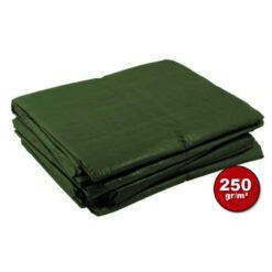 Groen afdekzeil 250gr | Afdekproducten.nl