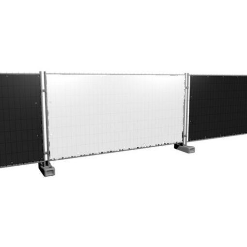 Bouwhekzeilen, bouwhekdoek, bouwhekzeil, 1.76x3.41m, kleur wit